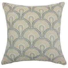 Yaru Geometric Throw Pillow Cover (Size), Multi, Size 18 x 18 (Fabric)