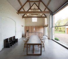 John Pawson designs his own Home Farm in the Cotswolds - Architecture British Architecture, Sustainable Architecture, Residential Architecture, Modern Architecture, Ancient Architecture, Design Blogs, Interior Design Tips, Interior Decorating, John Pawson Architect