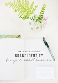 The Absolute Essentials of Creating a Distinctive Brand Identity that'll Get Your Small Business Noticed business ideas #smallbusiness small business ideas wahm ideas