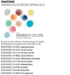 Fashion color report for women
