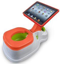 Geek Bathroom Accessories - iPotty with the iPad   #geek #ipad