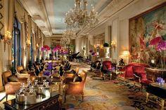 Hotel Four Seasons Hotel George V Paris Paris, Paris: booking and prices — Hotellook Hotel Paris, Paris Hotels, Paris Paris, Paris City, Four Seasons Hotel, Hotel Lobby Design, Design Entrée, Foyer Design, Paris Design
