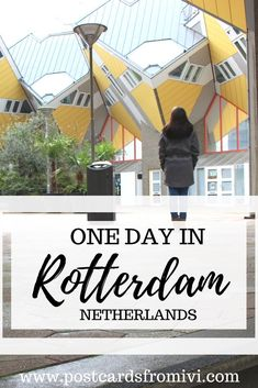 What to see in Rotterdam in one day - Architecture tour