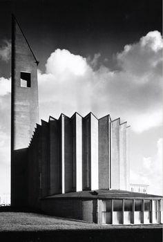 De Nederlands-hervormde Opstandingskerk (Kolenkit), Amsterdam, M.F Duintjer, 1957
