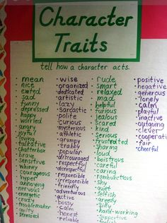Character traits: Realistic Fiction Unit for Second Grade - great plans, great anchor charts Second Grade Writing, 6th Grade Reading, Third Grade, Readers Workshop, Writer Workshop, Realistic Fiction, Writing Anchor Charts, Fiction Writing, Writing Poetry