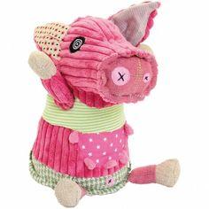 Peluche Jambonos le cochon Original (27 cm)  par Les Déglingos