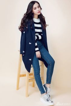 Angelababy releases new fashion shoots Fashion 2017, Love Fashion, Girl Fashion, Winter Fashion, Fashion Outfits, Womens Fashion, Park Shin, Angelababy, Chinese Actress