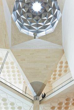 Museu de Arte Islâmica (Museum of Islamic Art-MIA) em Doha, Qatar,