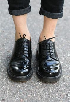Vintage 90s Rugged Sole Lace Up shoes