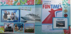 On a Cruise: Full Layout - Scrapbook.com