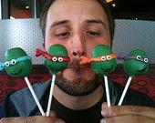 Ninja Turtle Cake Pops #EasyPin