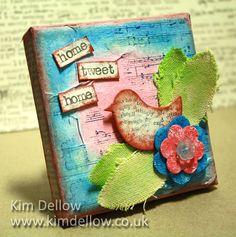 Mixed media art: Kim Dellow
