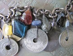 Antique Coins & Gemstones by FrenchSentiments on Etsy, Kathy Barrick, French Sentiments