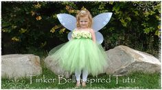 Tinkerbell Costume by SouthernBlingBowtiqu on Etsy