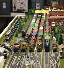 Image result for curved ho scale rail yard #lionelhotrains