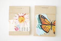 stellaire: collage matchbook notebooks