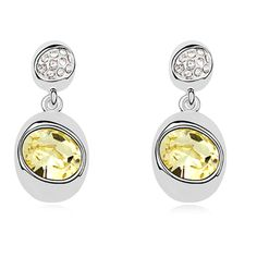 Exquisite Statement Earrings For Women Genuine With Swarovski Elements Austrian Crystal Earings Fashion Jewelry Wholesale
