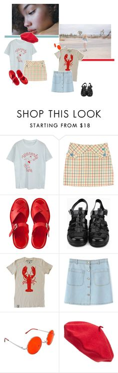 """""""honey bunches & petunia beluga"""" by mackenzieblackwood ❤ liked on Polyvore featuring Marc Jacobs, SWG and Parkhurst"""