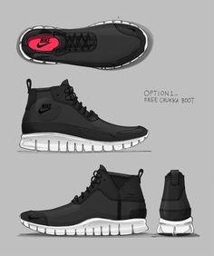 Nike Sportswear Free Chukka Boot — David Whetstone Design