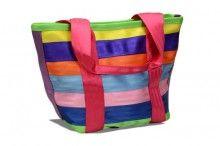 Campus Tote in Confetti by Maggie Bags #MaggieBags #handbags #purses #fashion #ecofriendly #seatbelthandbags