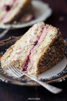 Poppy Seed & Chestnut Layered Cake