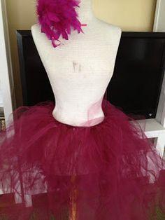 Seussical Bird Girl costume