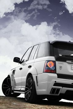 Range Rover... http://www.turrifftyres.co.uk