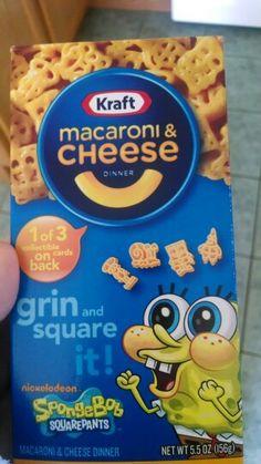 Spongebob mac and cheese!!!!