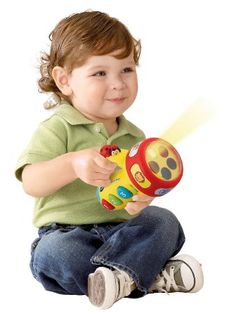 Amazon.com : VTech Spin and Learn Color Flashlight : Electronic Learning Toys : Toys & Games