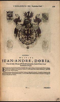 316. 1607; Gian Andrea Doria, 5th Prince of Melfi (1570-1612).