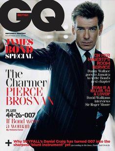 #Skyfall - GQ celebra i James Bond della storia - Pierce Brosnan
