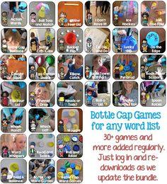 25 best 3rd spelling images on pinterest file folder games file bottle cap games bundle for any word list k 3 hands on fandeluxe Image collections