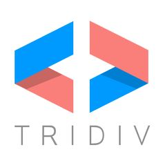 Tridiv Logo it´s a 3d online editor