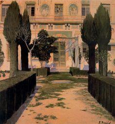 Jardín del Palacio de Viznar / Santiago Rusiñol