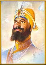Guru Gobind Singh ji (1666 - 1708) was the tenth guru and the founder of the Sikh religion.