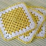 Free Crochet Washcloth/Dishcloths Patterns