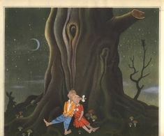 I adore this unusual German edition of Hansel and Gretel published in 1944 by Globi-Verlag and illustrated by Herbert Leupin. Hansel Y Gretel, Grimm Fairy Tales, Children's Books, Illustration Art, Shabby, Painting, Brother, Painting Art, Paintings
