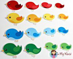 Spring Preschool Centers - In My World Bird Crafts Preschool, Preschool Centers, Free Preschool, Preschool Printables, Preschool Classroom, Preschool Activities, Preschool Lessons, Toddler Crafts, Sudoku
