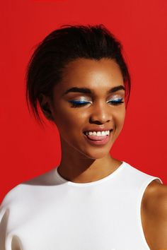 6 Easy Ways To Instantly Upgrade Your Beauty Game #refinery29 http://www.refinery29.com/colorful-makeup-looks#slide-13 The Look: Blue Steel You might've tried navy eyeliner in lieu of traditional black or brown before, but give electric blue a chance in the spotlight sunlight this season. First, pat a silver or shimmery-white eyeshadow, like COVERGIRL Bombshell Shineshadow By LashBlast in Ice Queen, all over the lids from the outer corner to the tear duct using your ring finger. Then, create…