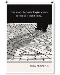 Obvious State: Cobblestones (Dickens) print, 13x19