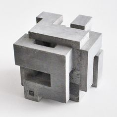 Architectural sculpture based on poycubes geometry Concrete Sculpture, Cube Design, Arch Model, Concept Diagram, Brutalist, Wall Sculptures, Architecture Design, Architecture Models, Instagram