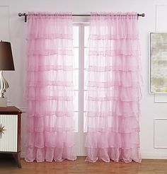 Aliexpress.com : Buy B17a Pink Princess home Sheer curtain childern girl room finished product window screening customized tulle curtain 100x270cm from Reliable curtain kitchen suppliers on Ai Mall 3C Accessories  | Alibaba Group