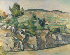 'Ladera de Provenza', Paul Cézanne