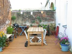 Nice table The deck | Flickr - Photo Sharing!