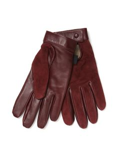 Szarmant Driving Gloves In Suede