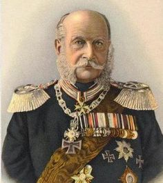 Emperor Wilhelm I (Wilhelm Frederick Louis) Prussia by Wilhelm Kuntzemüller, Father of Frederick III (Friedrich Wilhelm Nikolaus Karl) Prussia. Husband of Augusta of Saxe-Weimar, Germany. Frederick William, King William, History Of Germany, Lincoln Assassination, English Army, Otto Von Bismarck, Berlin, Friedrich, Ludwig