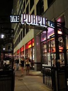 Purple Pig- Chicago, IL... Eating dinner here tonight... 2/9/13