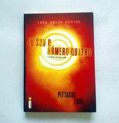 """Doação de 1 Livro """"Eu sou o número quatro"""" - #livro #doacao #ficcao #gratis"""