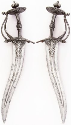 Indian chilanum dagger, century, Met Museum, Bequest of George C. Katana, Pretty Knives, Cool Knives, Swords And Daggers, Knives And Swords, Hawke Dragon Age, Cool Swords, Tsumtsum, Shuriken