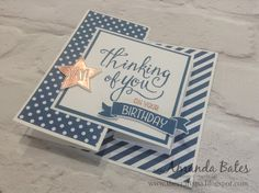 The Craft Spa - Stampin' Up! UK independent demonstrator : Time of Year Double Z Joy Fold Card...